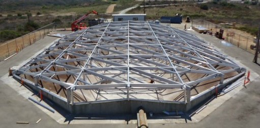Image of UIG Aluminum Geotruss Clear Span Reservoir Cover