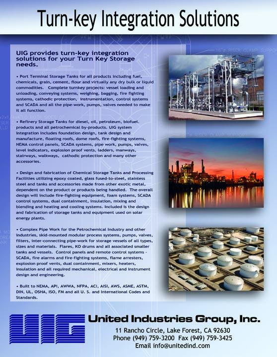 Download Storage Tank Brochures from UIG Tanks | UIG Tanks