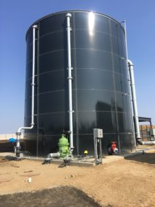 EVERSTORE Bolted Glass Fused Steel Storage Tanks | UIG Tanks