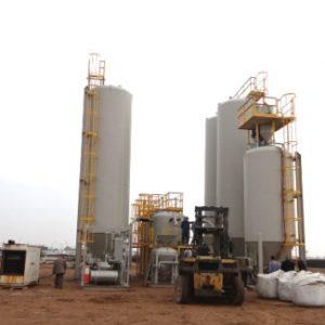 Field Fabricated Big Bag Processing Plant