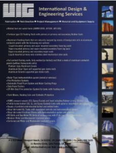 UIG International Engineering Services Flyer