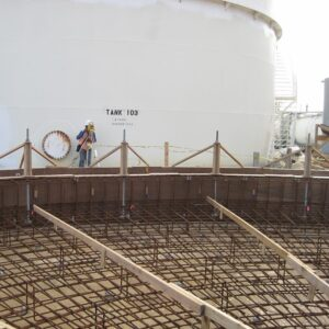Anchor Bolted and Form Work Inspection